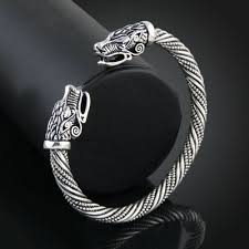 wolf head bracelet jewelry fashion