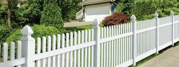 Vinyl Picket Fences Nobility Fence