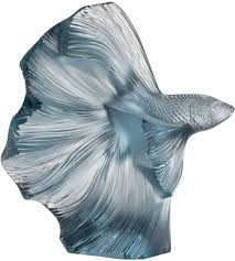 lalique fighting fish sculpture