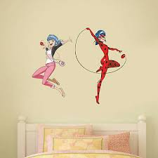 Miraculous Wall Sticker Marinette Ladybug Decal Mural Art Kids Bedroom Child Ebay