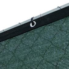 Fence4ever 68 In X 25 Ft Green Privacy Fence Screen Plastic Netting Mesh Fabric Cover Rei