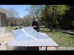 repair a shattered glass patio table