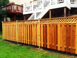 Wood Privacy Fence 6ft Privacy Fence Large Privacy Fence Wood Fence Design Ideas Beautiful Privacy Fence Ideas Fence Design Privacy Fences Wood Fence Design