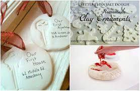 salt dough homemade clay for ornaments
