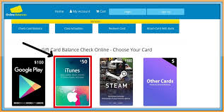 check your itunes gift card balance