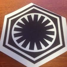 First Order Vinyl Decal Bd15 Decals Props