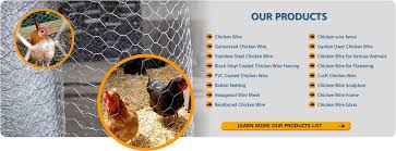 Chicken Wire Mesh Fencing 1 2 3 4 Inch Hexagonal Poultry Netting