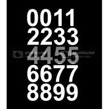 Customdecal Us 4g Qx73 0vqo Reflective Sheet Of 2 Inch White Vinyl Custom Street Address Mailbox Number Decal Sticker