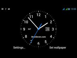 og clock live wallpaper 7 you