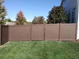 Vinyl Fences Elite Fence Deck