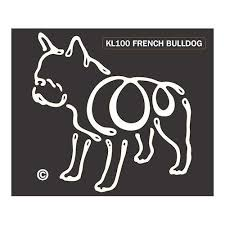 K Line French Bulldog Dog Car Window Decal Tattoo Doggy Style Gifts