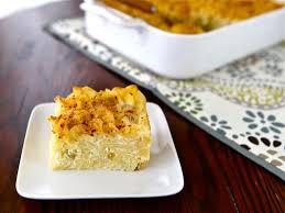 sweet lokshen kugel jewish noodle pudding