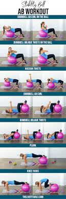 ility ball ab workout the live