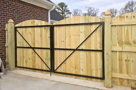 Gate Between The House The Garage Backyard Gates Wooden Fence Gate Wooden Gates