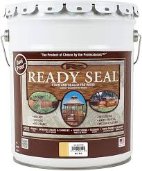 Ready Seal 510 Exterior Stain And Sealer For Wood 5 Gallon Golden Pine Household Wood Stains Amazon Com