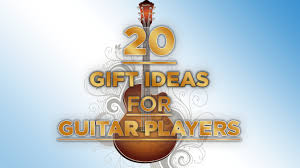 inexpensive gift ideas for guitar players