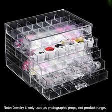 storage box nail polish rack makeup