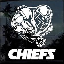 Kansas City Chiefs Football Player Window Decal Sticker Custom Sticker Shop