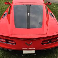 C7 Corvette Stingray Z06 Grand Sport 2014 Split Window Decal Emblem Selection Modern Gen Auto
