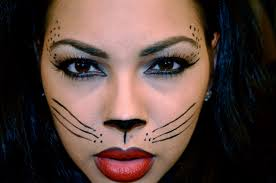 kitty cat makeup for halloween 2020