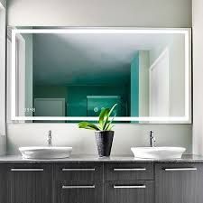 led bathroom mirrors and backlit