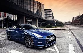 blue nissan gt r wallpapers top free