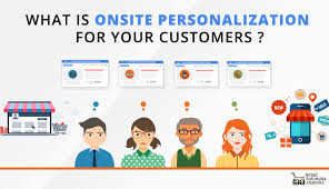 On-site personalization uses those insights to create individualized experiences.