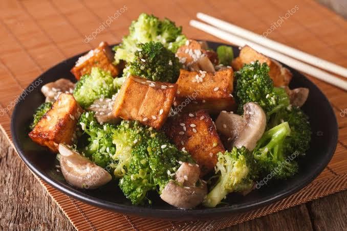 Portokallı Brokoli Tofu Mazlzemeleri Tarifi