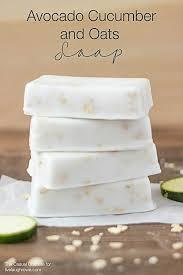 avocado cuber and oats soap recipe