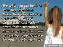 what to write in a going away card this is for my friend who is
