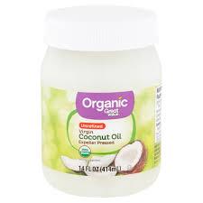organic unrefined virgin coconut oil