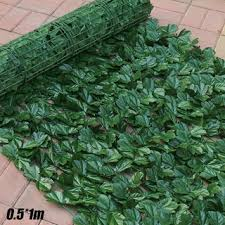 Cod Artificial Faux Ivy Leaf Privacy Fence Screen Garden Home Outdoor Hedge Cl Shopee Philippines