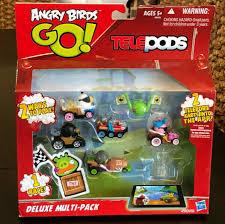 NEW Angry Birds Go! Telepods Kart Deluxe Multi-Pack Hasbro ...