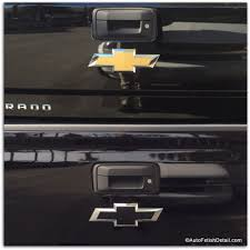 Remove Chevy Bowtie Emblem See The Expert At Work