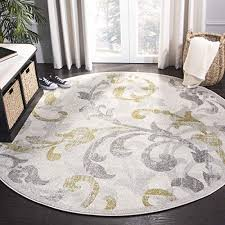 7 ft round rugs com