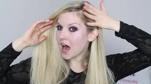 avril lavigne o kitty video make up