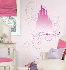 Disney Princess Scroll Castle Peel Stick Giant Wall Decals W Glitt Walldecals Com