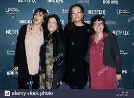 New York, NY, USA. 8th Nov, 2018. Betsy West, Barbara Kopple, Alexandria  Bombach, Julie Cohen at