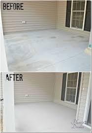 our front porch concrete repair plum