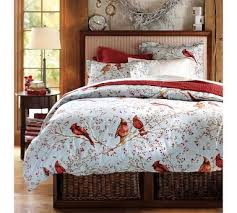 cardinal bedding from pottery barn