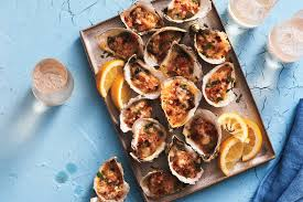 Baked Oysters with Bacon and Smoked ...