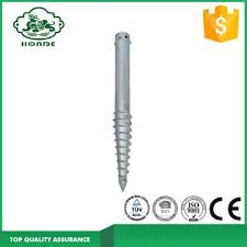 Best Fence Post Screws Fence Post Screw Anchor Ground Screw Anchor For Fence For Sale