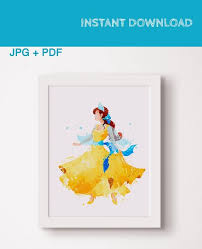 Anastasia Romanov Princess Disney Anastasia Painting Poster Print Art Gift Watercolor Disney Characters Instant Download Wall Art Decor By Skyposter Catch My Party