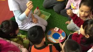 Lớp GDMN4.K7 - Tổ chức trò chơi dân gian cho trẻ 5 - 6 tuổi phát ...