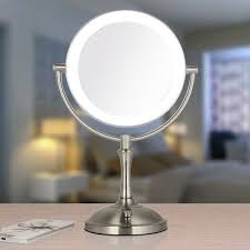 touch dimmer led makeup mirror lighted