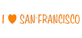 Wholesale I Love San Francisco Sticker Heart Sf California Decal For Car Rear Windshield Decals For Cars For Carcar Stickers Decals Aliexpress
