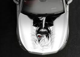 Automotive Tokyo Ghoul 3 Anime Car Side Wrap Color Vinyl Sticker Decal Fit Any Car Graphics Decals
