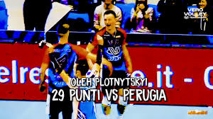 Top Moments 18-19: i 29 punti di Plotnytskyi vs Perugia - YouTube