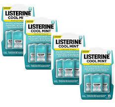 listerine cool mint strips