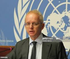 UNHCR spokesperson Adrian Edwards delivers a speech at the UN... News Photo  - Getty Images